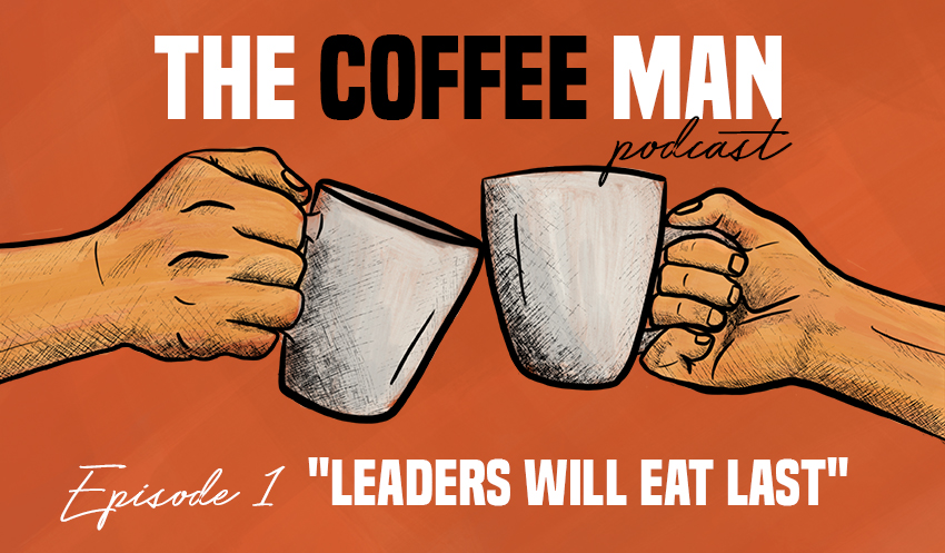 The Coffee Man Podcast Sasa Sestic Craig Johns ONA Coffee Leaders Will Eat Last